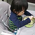 【育兒好物】寶寶餐椅推薦。AGUARD 兒童高腳餐椅 ~7段式高度調整│3段式腳踏板│5點式安全帶│安心無毒