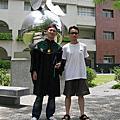 20110604丘大弟碩士畢業典禮