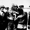 [二戰歐洲戰線]1945年4月25日易北河會師