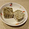 紅豆綠茶冰皮月餅