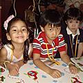 參加凱琳3歲生日派對