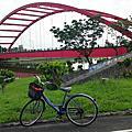 冬山河親水公園樂活單車