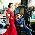 自助婚紗新人【推薦】 國城&姿瑩 主題式婚紗【攝影】 性感豔紅
