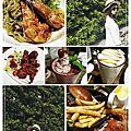 【台中。西區】夏爾Shire(綠園道店)哈比人小屋用餐 吮指回味的 蜂蜜BBQ炸雞翅+邪惡爆漿融岩起司牛肉堡