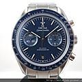 【MOTAFISH】 OMEGA 歐米茄 Speedmaster 9300計時機芯 深藍色面盤 錶況如新