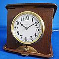 UNION HORLOGERE 1920年代 磁面報時報刻二問座鐘