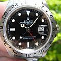 *ROLEX 勞力士 16570 EXPLORER II 探險家二號 黑色面盤
