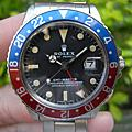ROLEX 勞力士 1675 GMT-MASTER MATTE DIAL