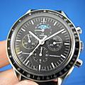 OMEGA 歐米茄 Speedmaster Professional  復古計時月相錶