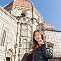 『蜜月旅行』加利利 義大利11日 佛羅倫斯(Firenze) 自由活動:共和廣場 聖母百花大教堂