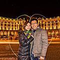 『蜜月旅行』加利利 義大利11日 羅馬(Roma) Sofitel 羅馬的貓 三越百貨 羅馬夜拍 晚餐:周老爹