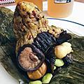 【Mr. Mark 馬可先生 端午節限定發售】薑黃蕈菇木耳十穀粽-養生風味最推薦