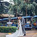 Brilliant bride~~吱吱婚紗照