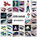 disney little mermaid makeup characters