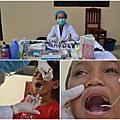 2011柬單愛柬埔寨國際志工服務-看牙齒摟!