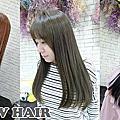 髮型-直髮