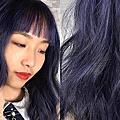 髮色-霧感藍紫色