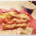 好吃的日本麥當勞辣味雞腿堡