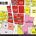 關埔計劃區內建案位置圖