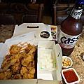 姜虎東炸雞配啤酒