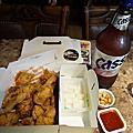 姜虎東炸雞配啤酒/韓國首爾