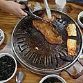 傳統炭火烤肉+五花肉吃到飽+季節小菜-哈韓烤肉吃到飽+季節小菜