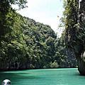 喀比/甲米Hong Island Krabi 洪島/房間島+神奇4島(1)雞島/凱島Kai Island(2)Mo Island莫島(3)Tup Island管子島(4)Poda Island波達島