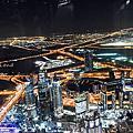 杜拜-世界最高塔哈里發塔 璀璨夜景