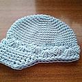 毛線棒球帽