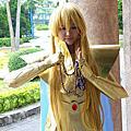 【cosplay】聖鬥士星矢-處女座沙加黃金聖衣