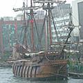 仿17世紀西班牙古戰船