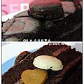 金格蛋糕-巧克力馬卡龍