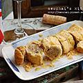 【孵書日記】順便包便當,香煎風味馬鈴薯&超香酥英式香腸捲。