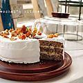 【蛋糕】瑪麗.貝里阿嬤的「核桃奶油糖霜蛋糕」(GBBO-1)