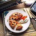 【甜點】「只想窩在家的休日好食光」漏網食譜,免模具杏桃派 (Apricots Pie)