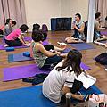 瑜珈教學人員應用實務班 第5期 戴老師上課照片