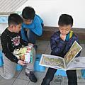 20170109雲水書車至太興國小服務