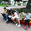 20180307雲水書車至東榮國小服務