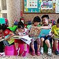 20180523雲水書車至梅山幼兒園服務