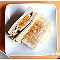 ★嚴選食材美味用心的早餐 可蜜達炭烤吐司~國賓大飯店小巷美食