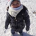 結冰的平澤湖