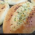 超軟超香的香蒜麵包-低温優格中種
