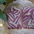 土司類-紫薯雙色土司