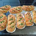 麵包-低温發酵-九層塔起司麵包