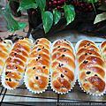 麵包-芋泥交叉造型麵包