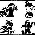 兒童畫26:可愛剪紙元宵燈籠2013.2.23