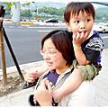 99/04/12一家3口動物園遊