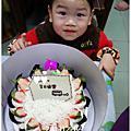 1021228比比兩歲生日蛋糕