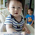 1030704三寶第一次剪髮(媽媽操刀)