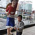 親子遊沖繩D4國際通:逛JUMP Station,Calbee+吃紅芋薯條和冰淇淋